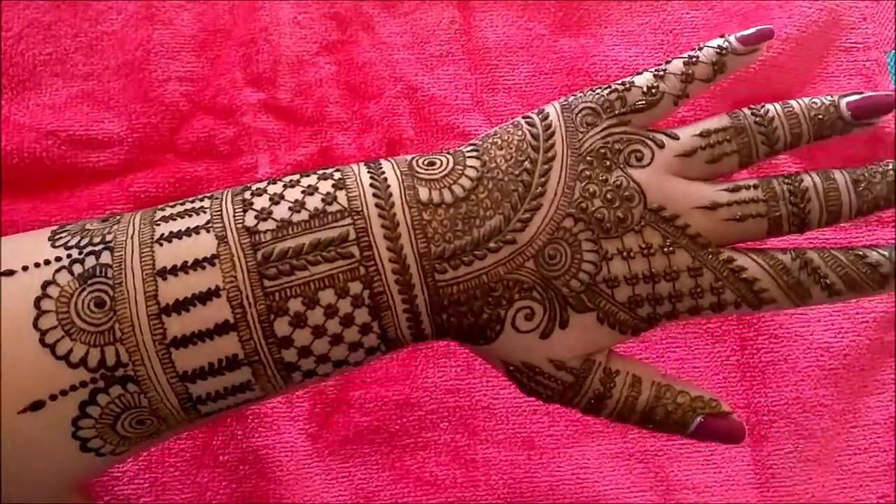 Latest Unique Indian Mehndi Design