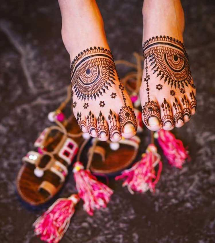 Leg Mehndi Designs For kids