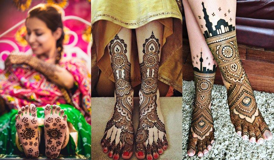 Mehndi Latest Design For legs