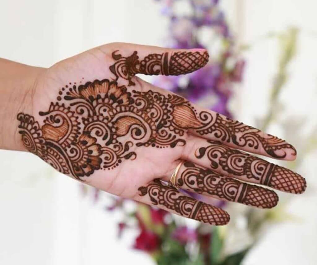 Lovely Indian Mehndi Designs For Hands