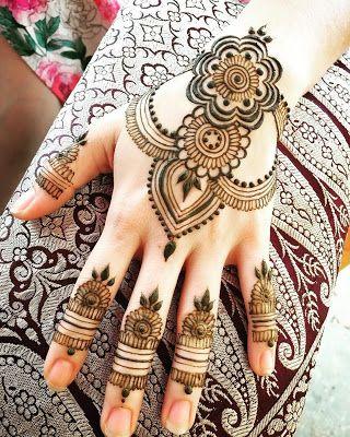 Mehndi Designs For backside