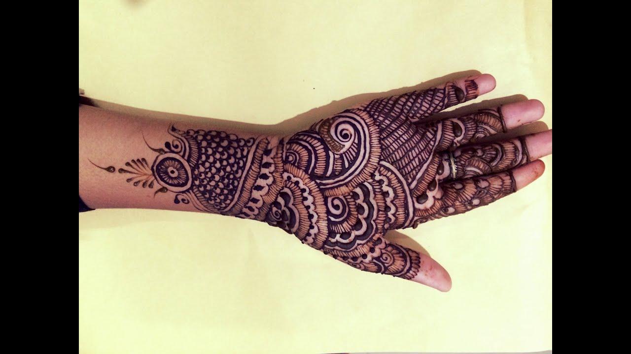 New Indian Simple Mehndi Design