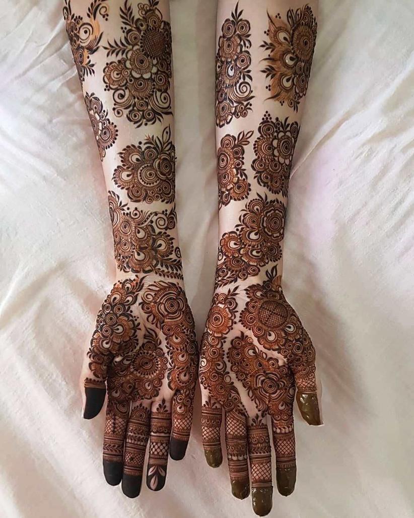 New Simple Bridal Mehndi Designs