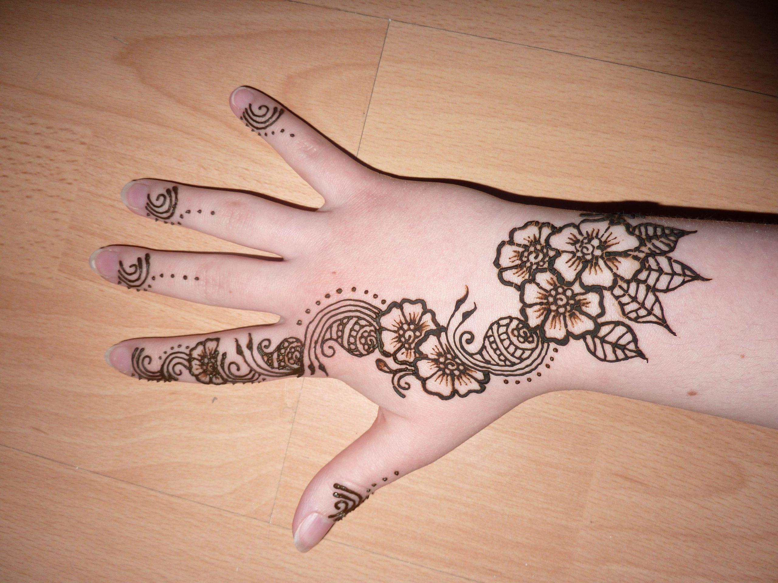Pakistani Mehndi Design For hand Latest