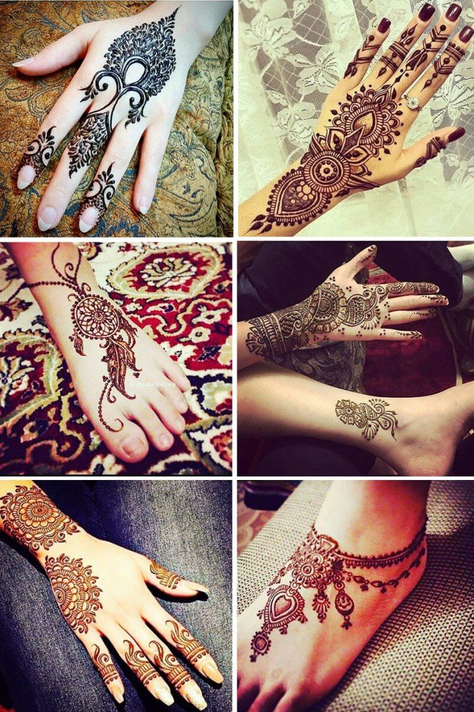 Pakistani Latest Mehndi Design