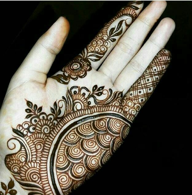 Stylish Pakistani Mehndi Design For hand