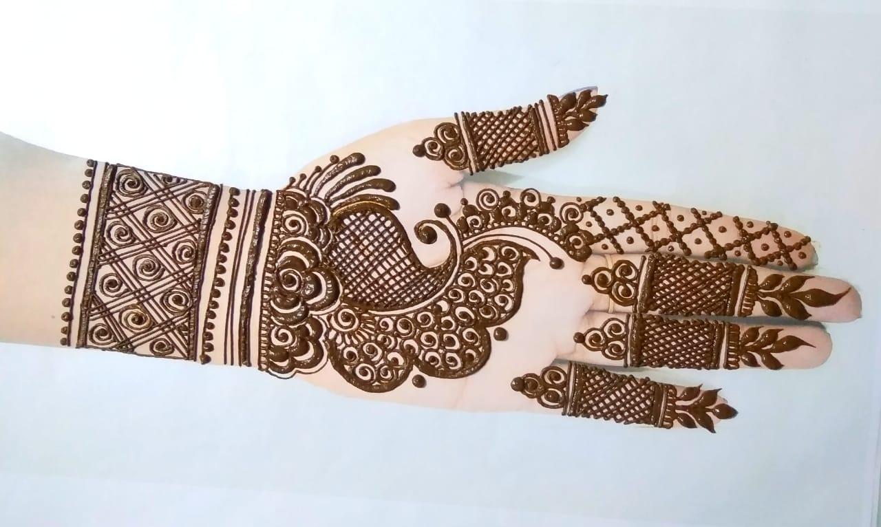 Simple Bridal Latest Mehndi Designs