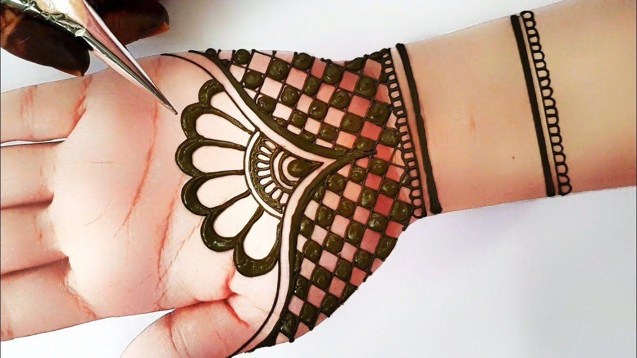 Simple Indian Mehndi Designs