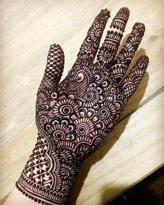 Unique Indian Mehndi Designs For Hands