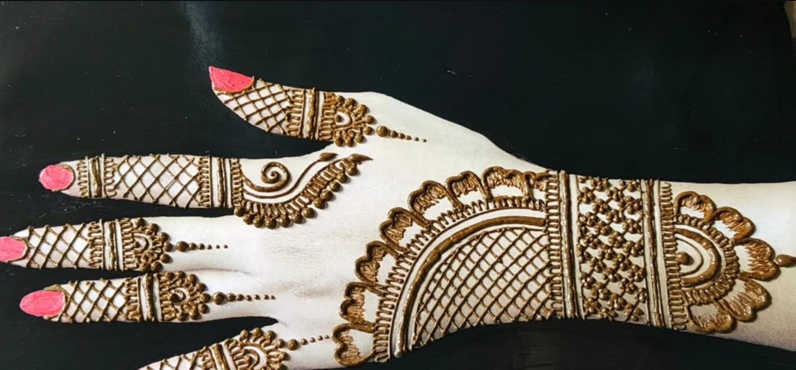 Unique Indian Mehndi Designs
