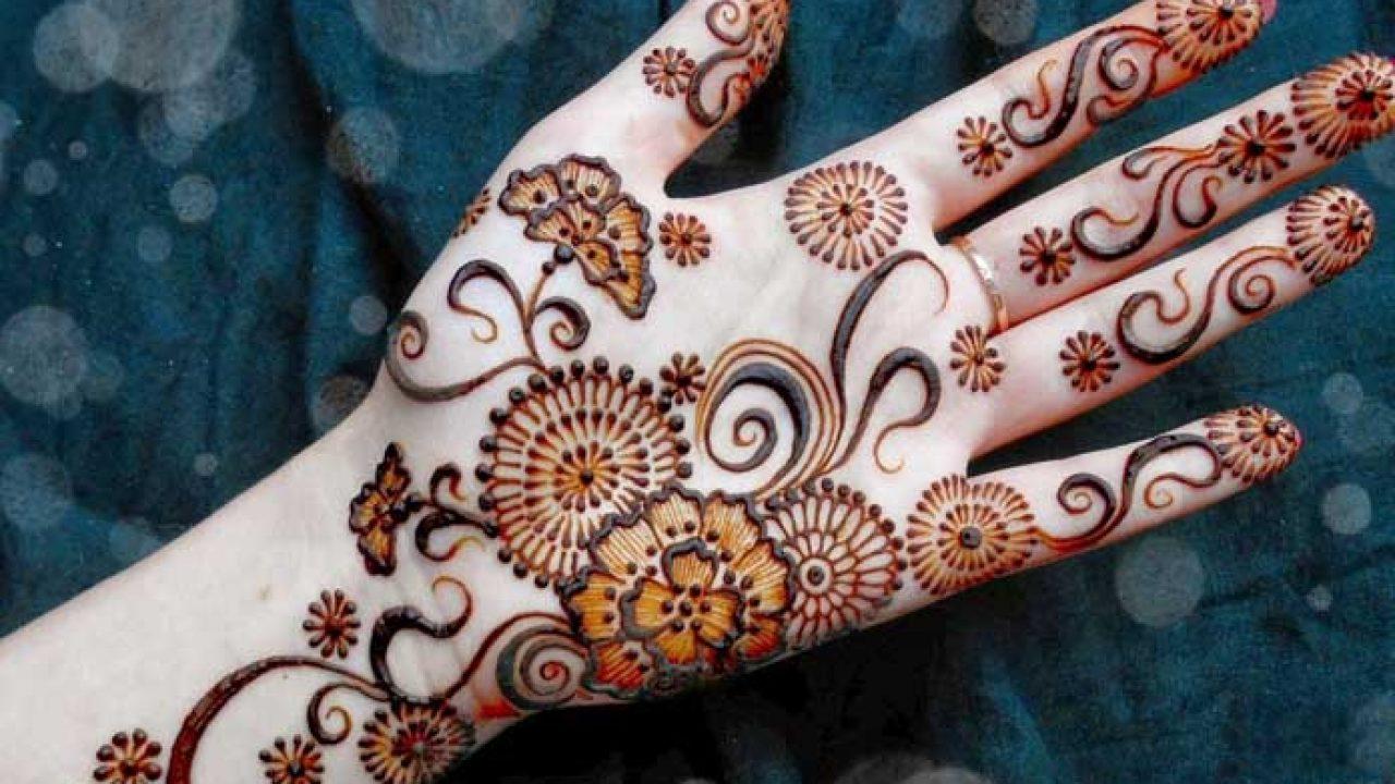 Unique Pakistani Mehndi Design For hand