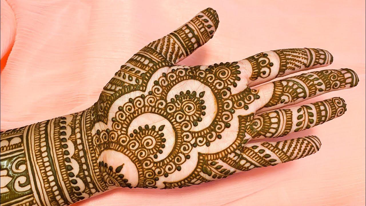 New Stylish marwari mehndi design