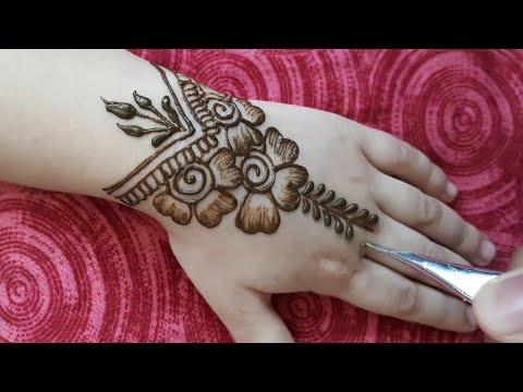 mehndi designs for baby girl