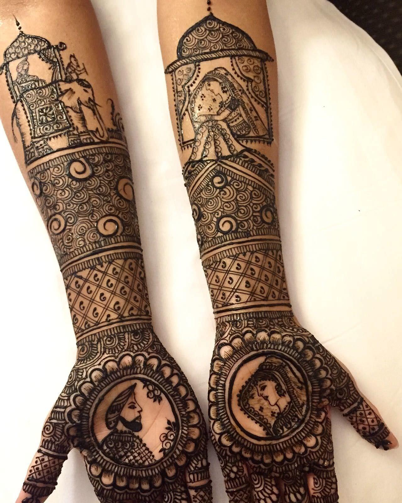 rajasthani bridal New mehndi design
