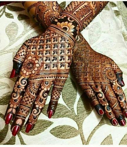 rajasthani bridal mehndi design latest