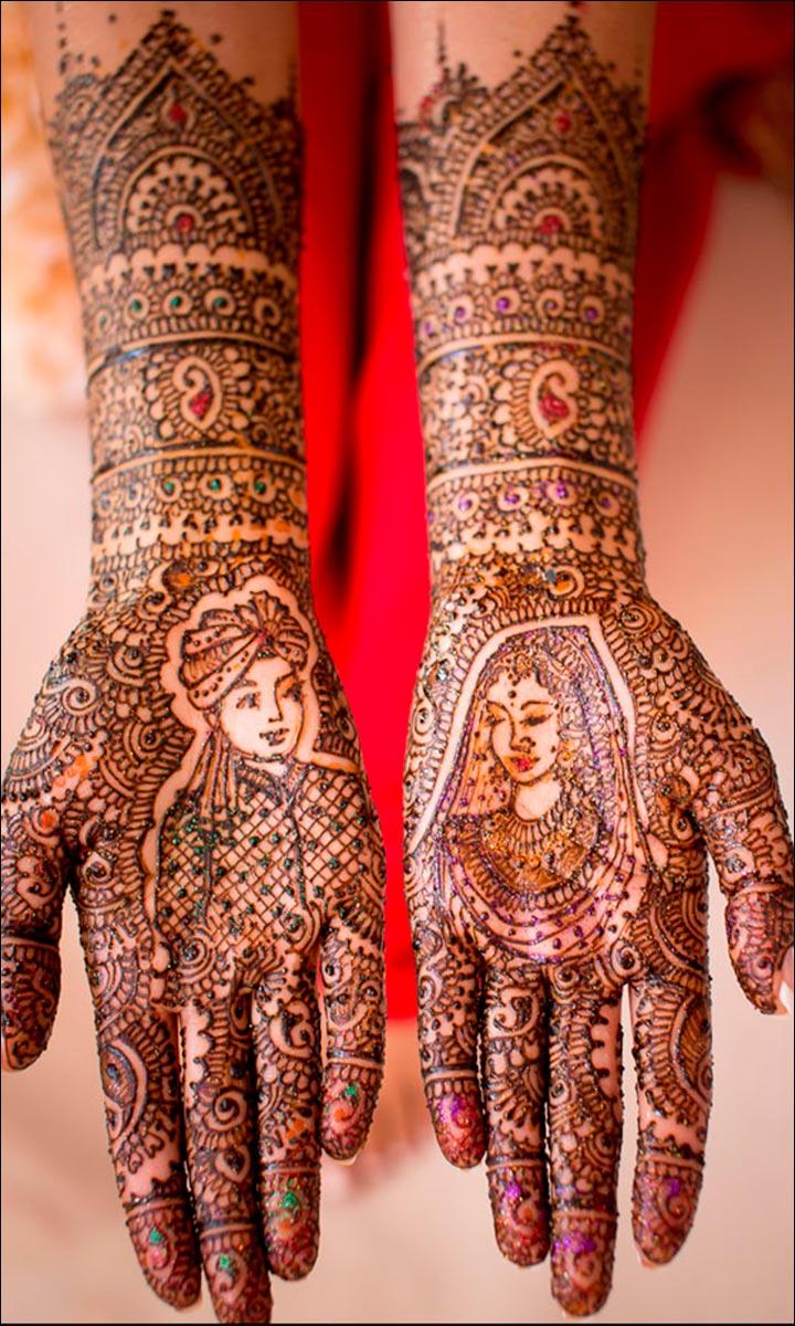 rajasthani bridal mehndi latest design