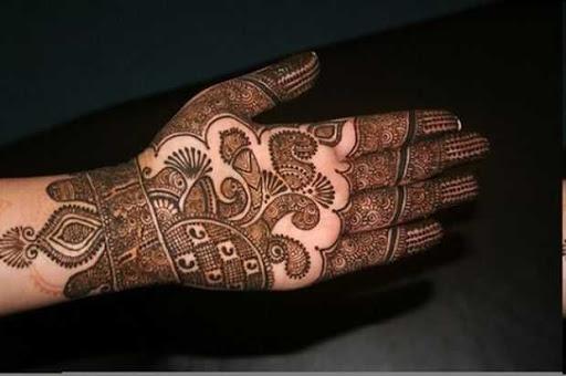 special diwali mehndi design