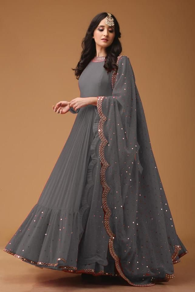 Beautiful Latest Gown Design 2021