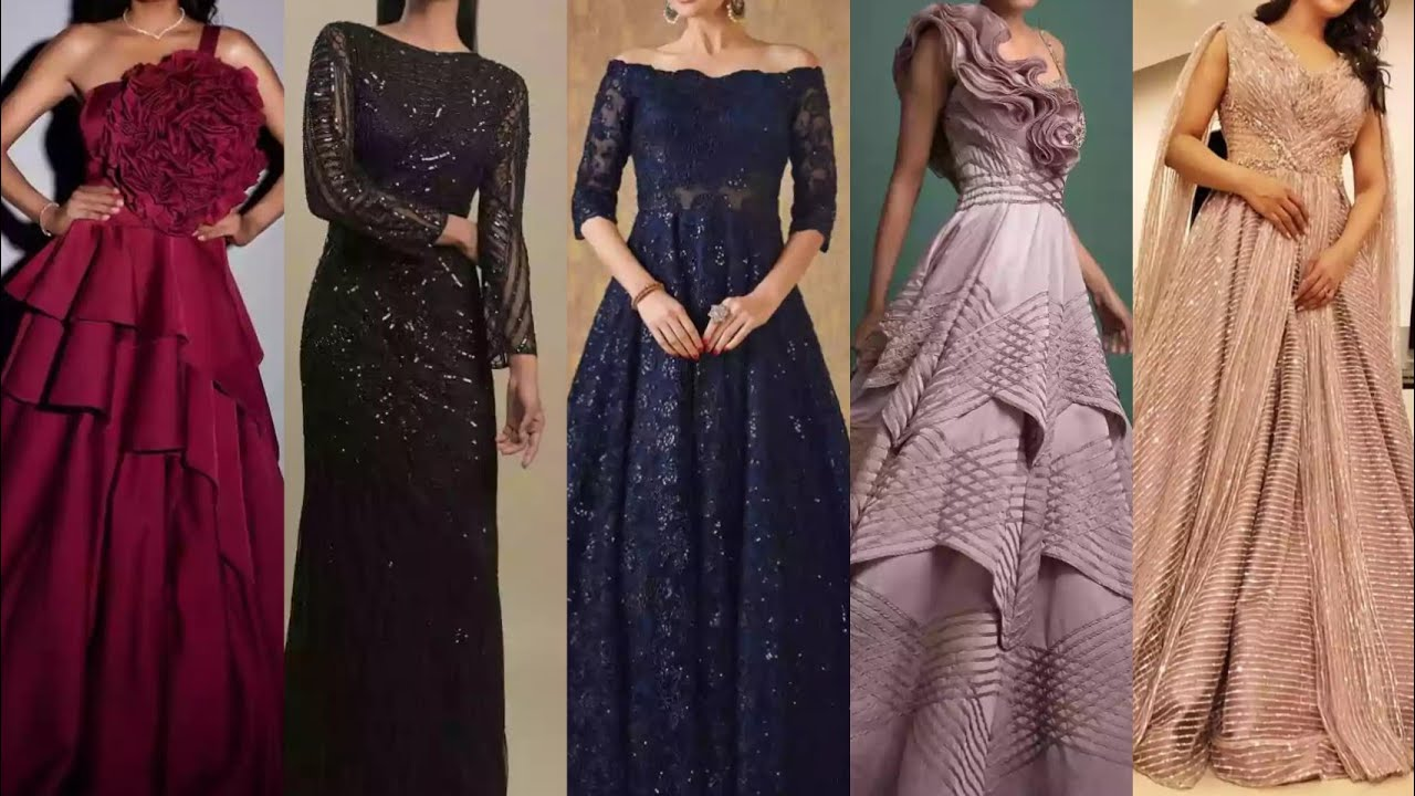 Gown Modern Design For Girls