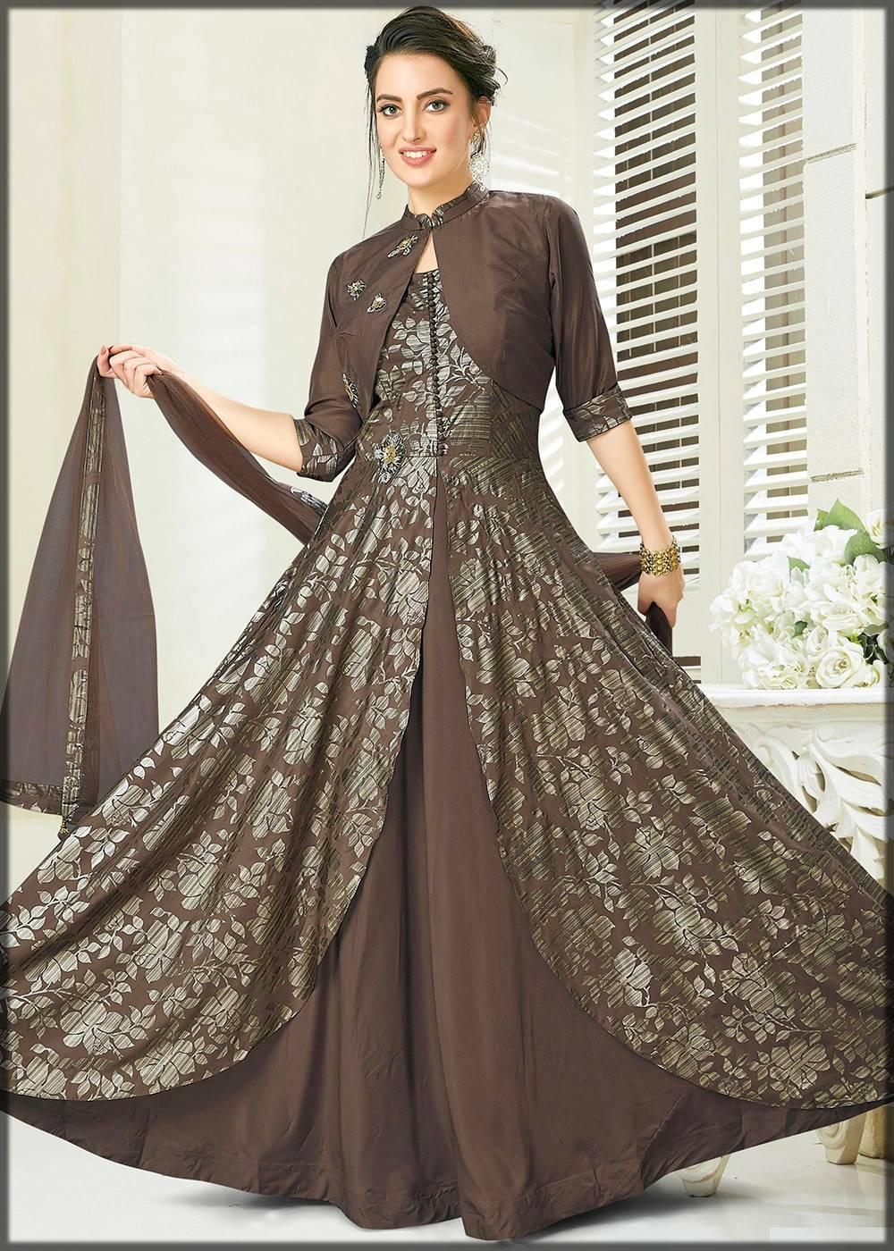 Gown Unique Design For Women