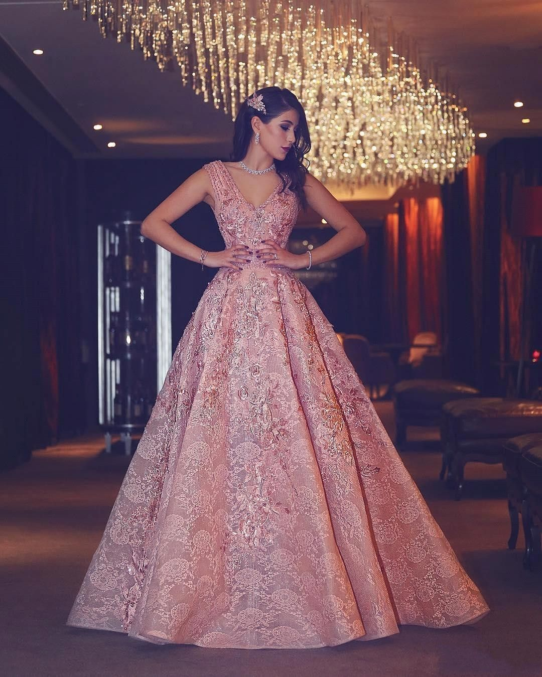 Latest Gown Design For Engagement