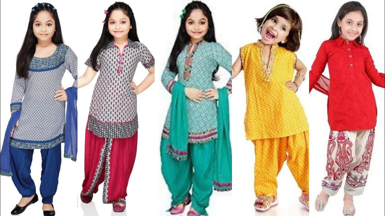 Latest Kameez Designs For Baby Girl