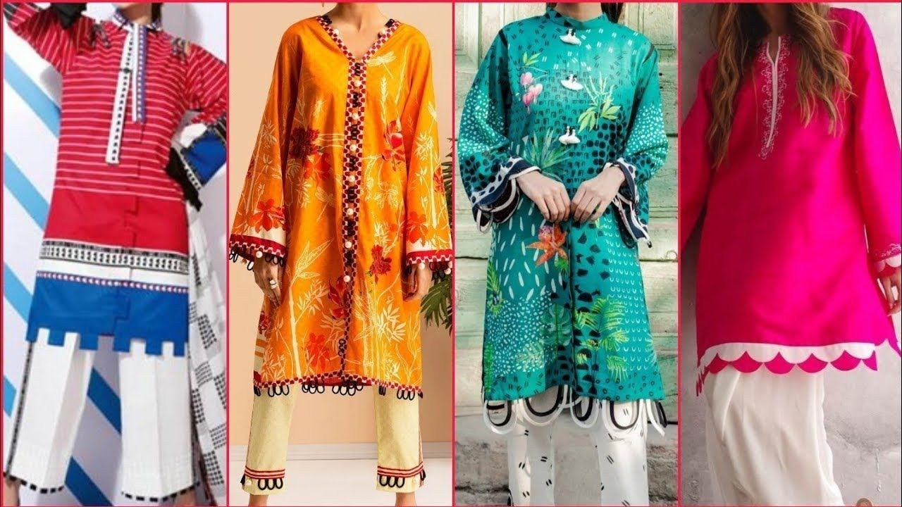 Latest Kameez With Sleeves Designs For Girls