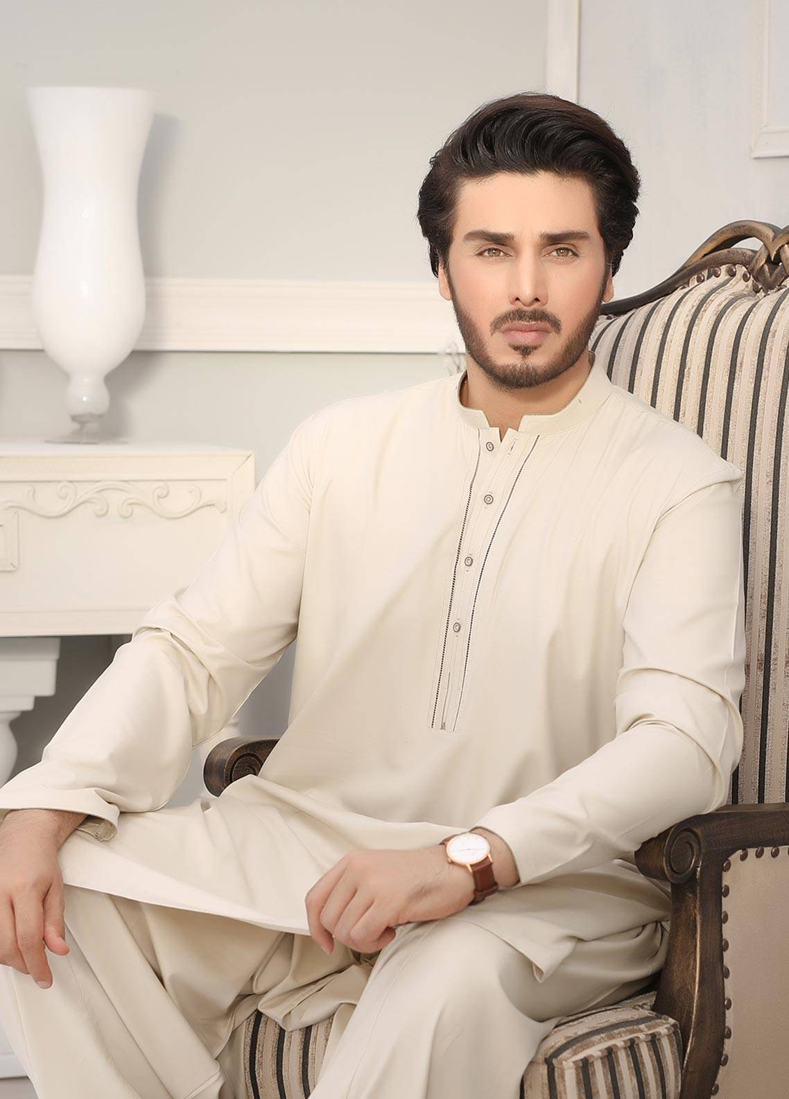 Latest Men Front Design for Eid