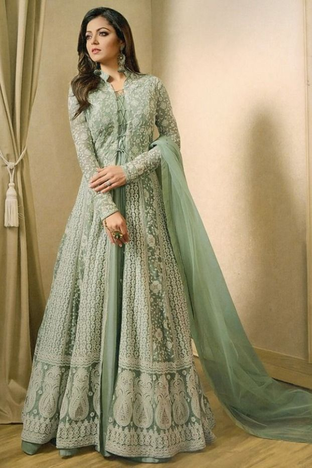 Latest New Gown Design 2021