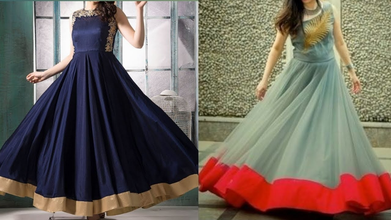 Latest New Gown Design Party Wear