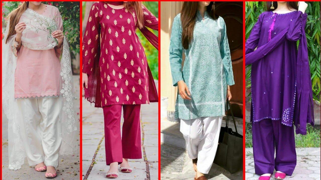 Latest & Stylish Ladies Shalwar Kameez Design 2021