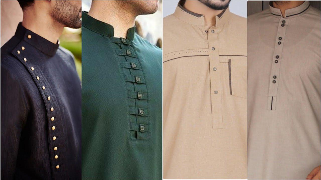 Mens Shalwar Kameez Collar Designs