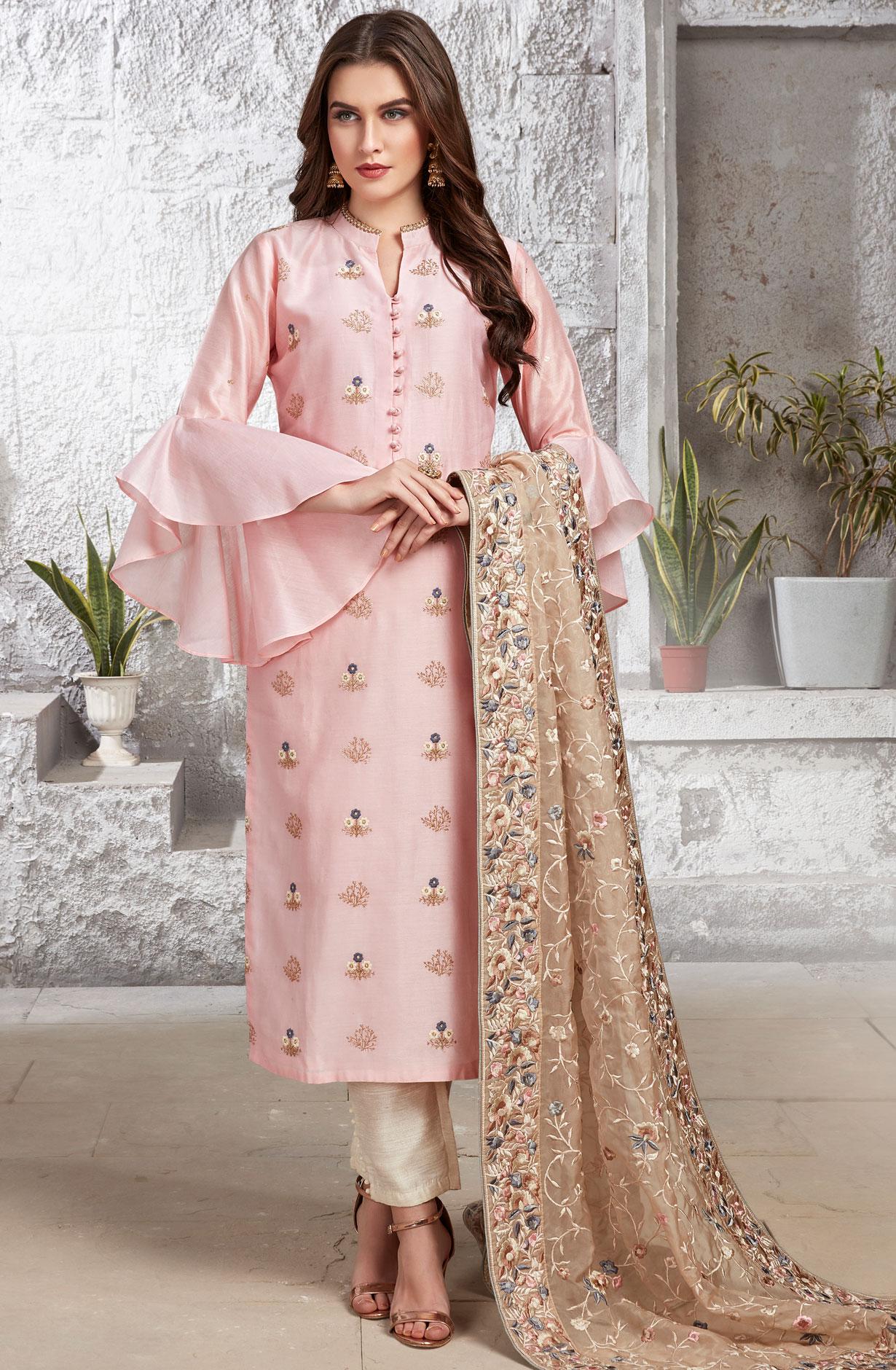 Modern Cotton Salwar Kameez Sleeve Designs