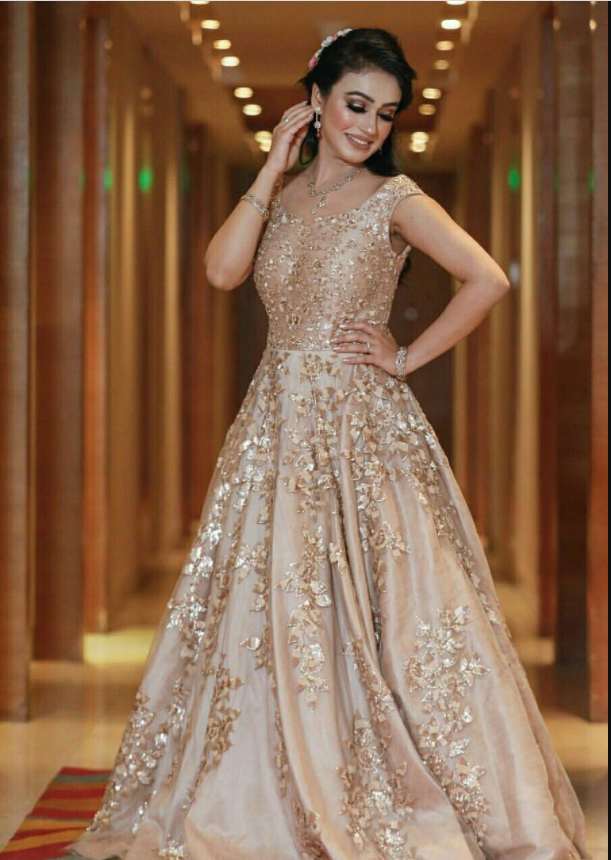 Modern Gown Design For Engagement 2021