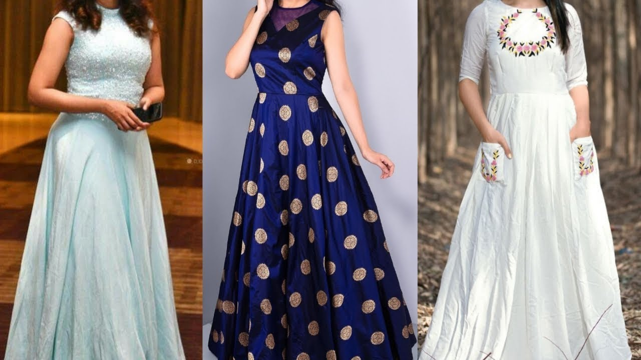 Modern Gown Design For Girls