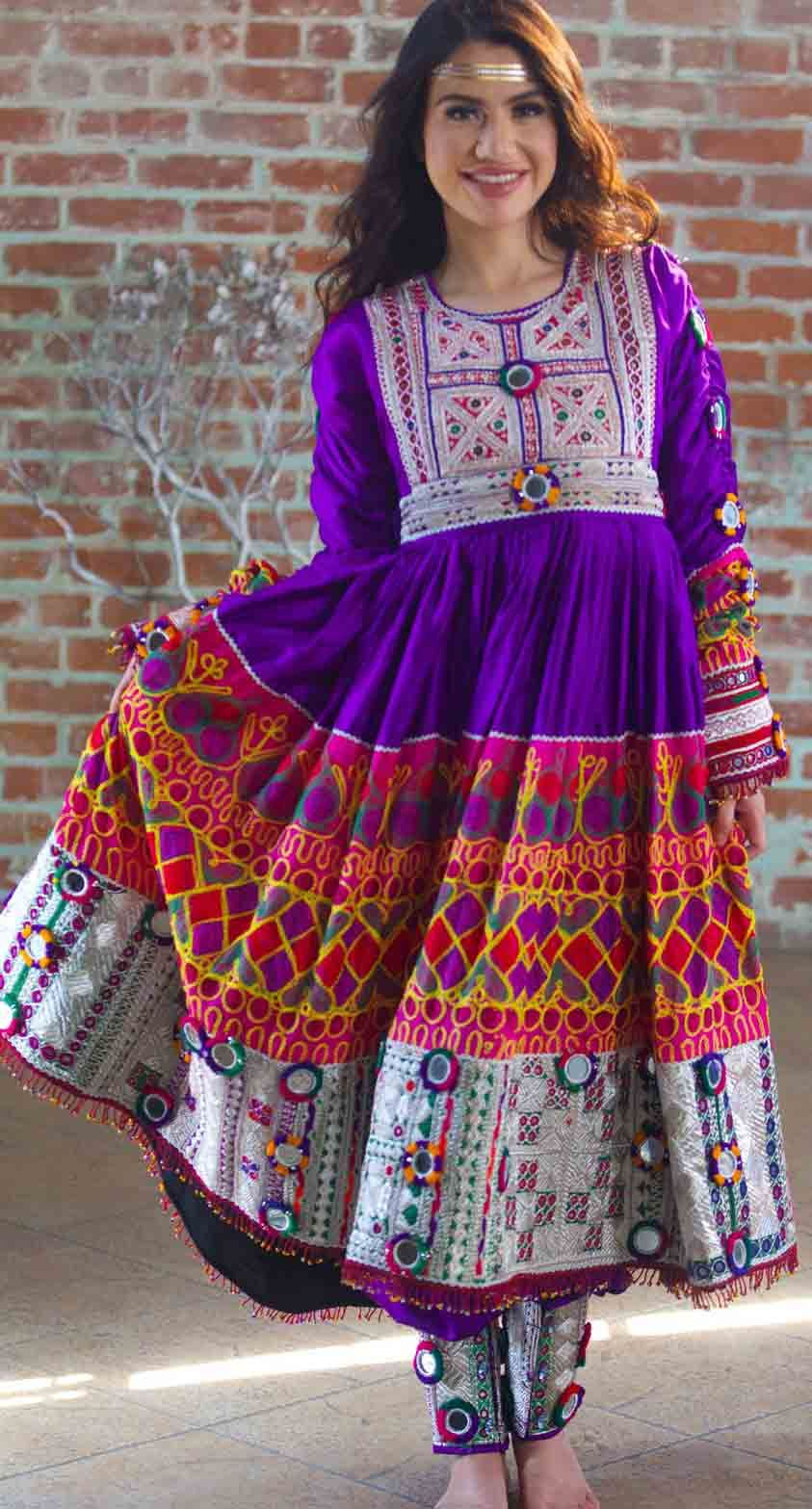 Modern Pathani Salwar Kameez Designs For Ladies
