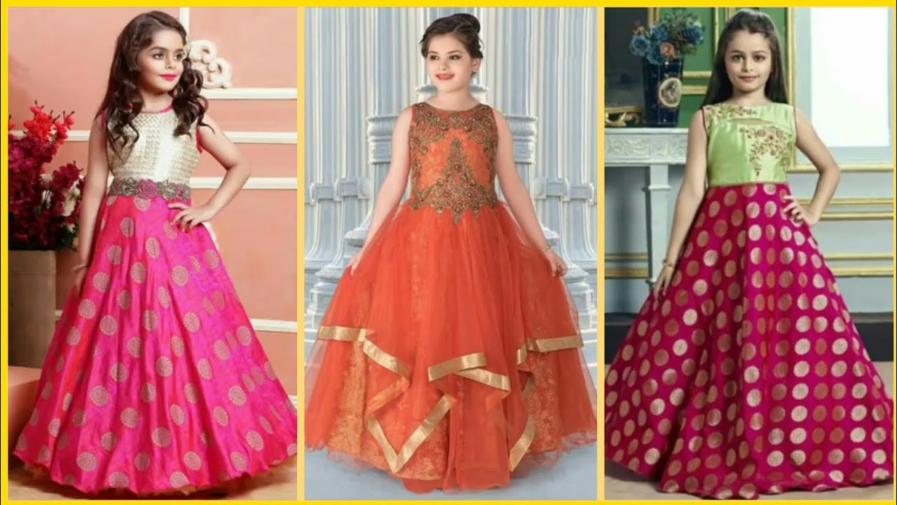 New Gown Design for kids