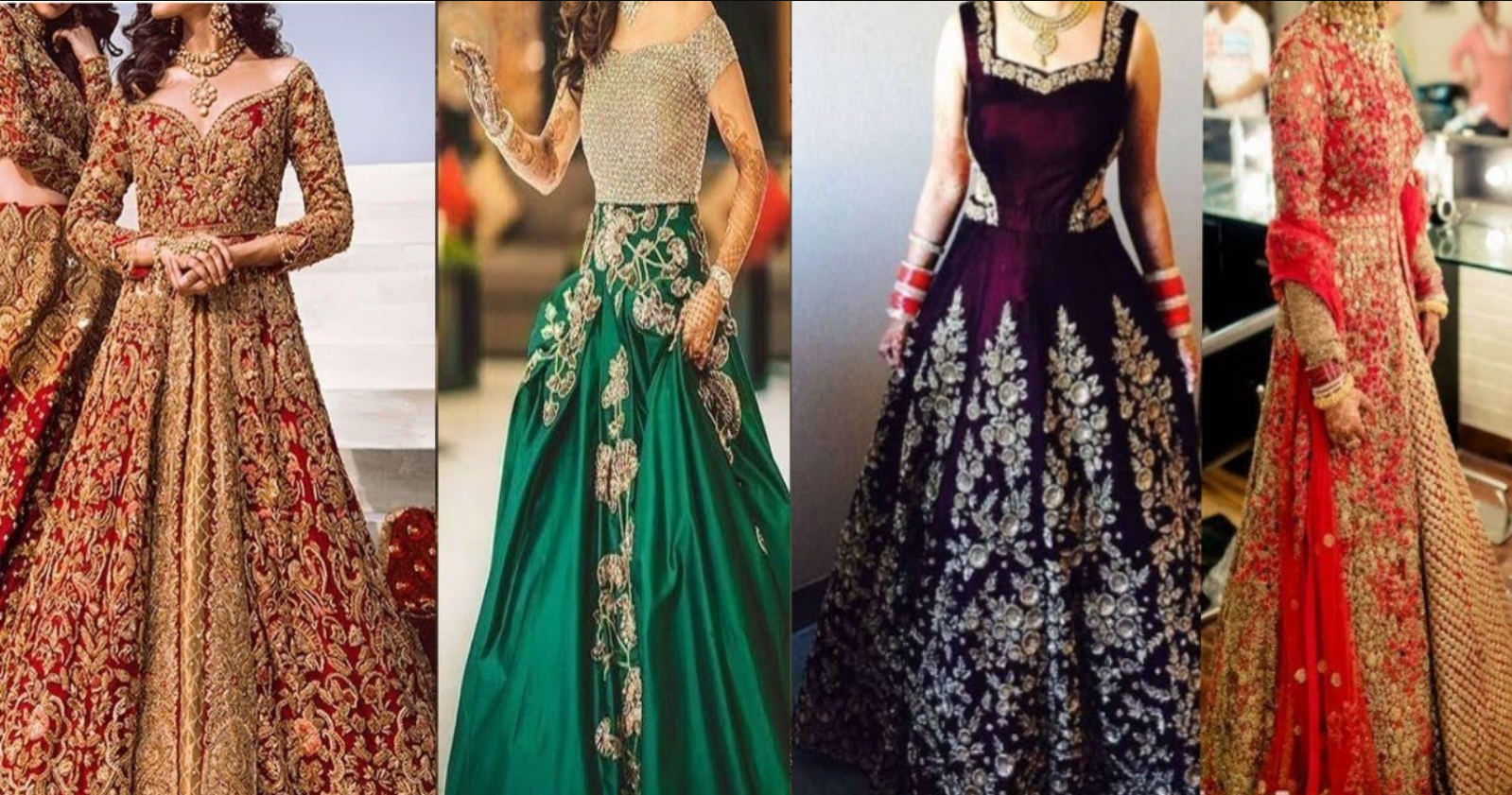 Latest Gown For Wedding