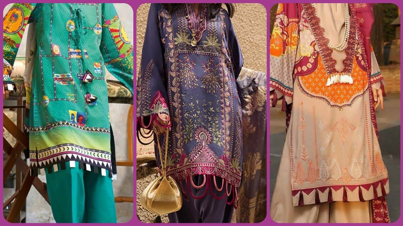 Latest Kameez With Sleeves Designs