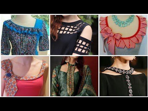 New Trendy Latest Kameez Neck design