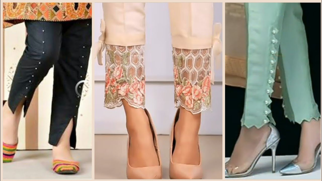 Salwar Designs With Lace