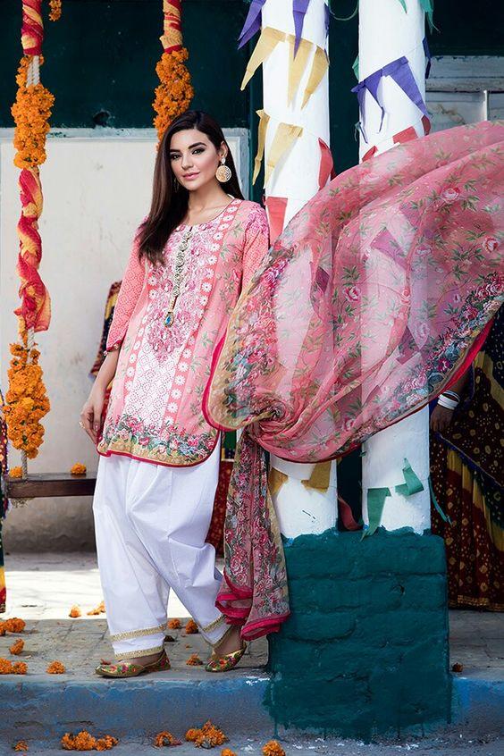 Shalwar Kameez Design For ladies