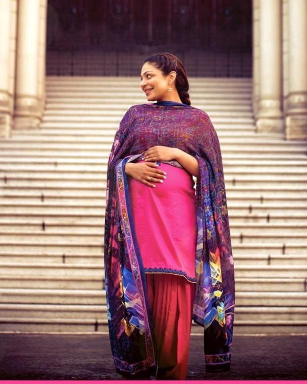 Shalwar kameez Designs For pregnant lady