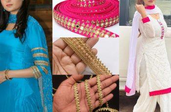 Kameez Design With Laces