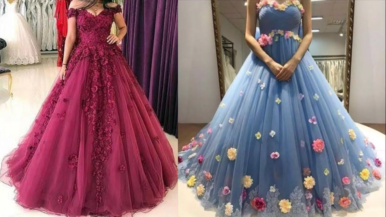 Simple New Gown Design