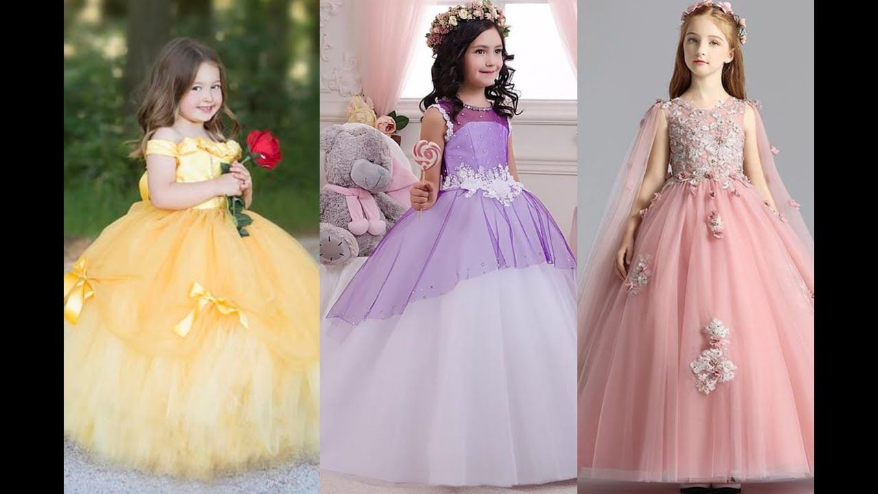 Stylish Gown Design For Girls