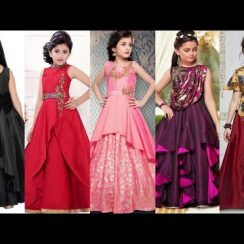 Gown Design For Kids