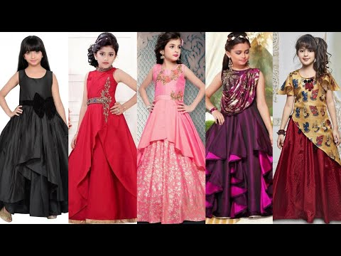 Stylish Gown Design For Kids New Arrival