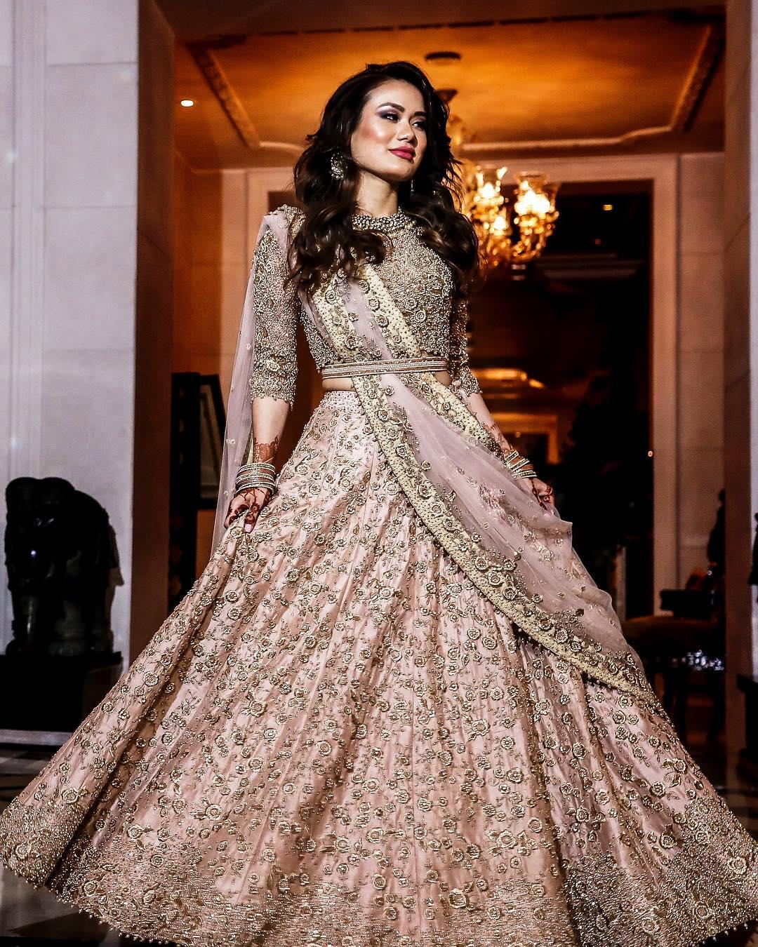 Trendy Bridal Gown Design