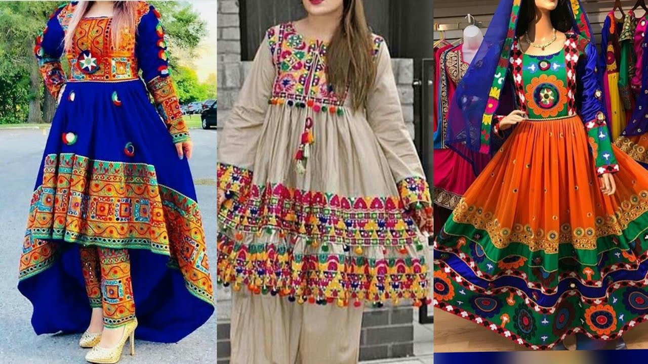 Tredny Pathani Salwar Kameez Designs For Ladies
